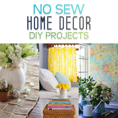 Diy Projects for Home Decor Luxury No Sew Home Decor Diy Projects the Cottage Market