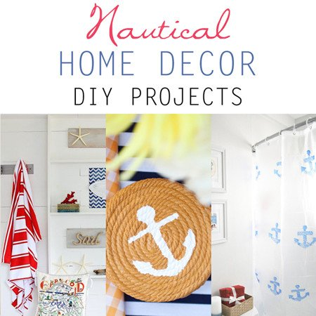 Diy Projects for Home Decor New Nautical Home Decor Diy Projects the Cottage Market