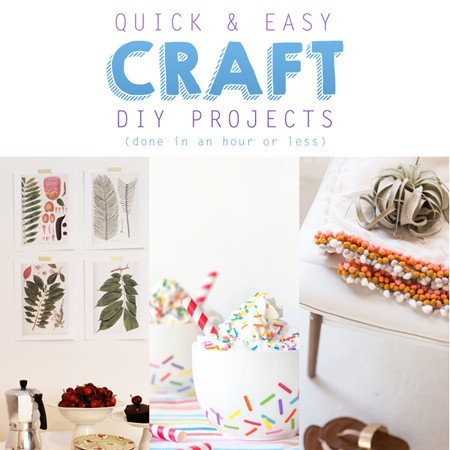Diy Projects for Home Decor Unique Quick & Easy Home Decor Craft Diy Projects the Cottage Market