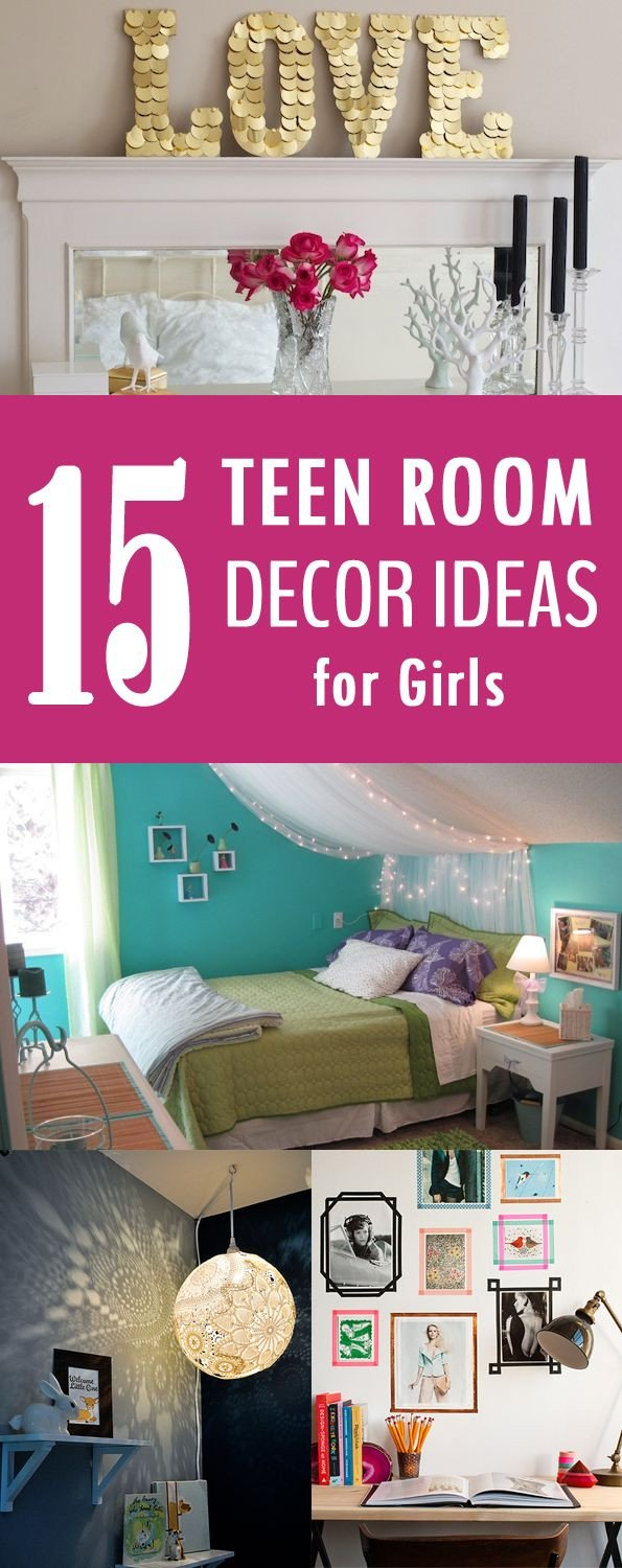 Diy Room Decor for Girls Best Of 15 Easy Diy Teen Room Decor Ideas for Girls Diy Ideas Pinterest