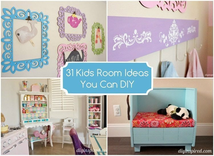 Diy Room Decor for Kids Awesome 31 Kids Room Ideas You Can Diy Diy Inspired
