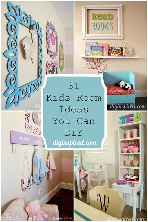 Diy Room Decor for Kids Elegant 31 Kids Room Ideas You Can Diy Diy Inspired