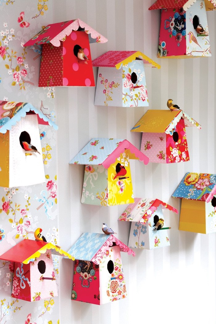 Diy Room Decor for Kids Elegant Kids Decor Diy Paper Birdhouse