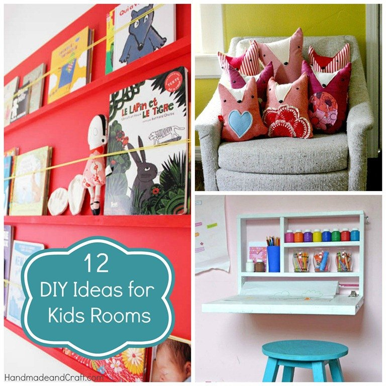 Diy Room Decor for Kids Luxury 12 Diy Ideas for Kids Rooms Diy Home Decor