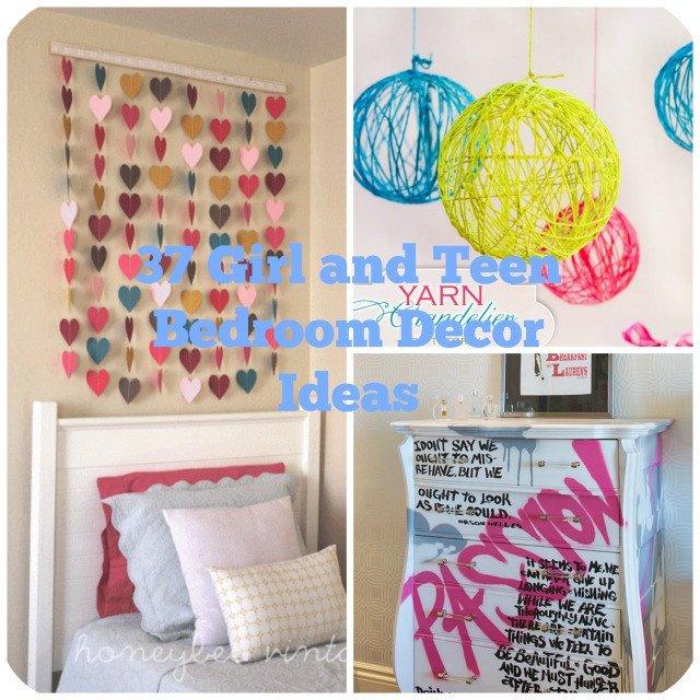Diy Room Decor for Teenagers Beautiful 37 Diy Ideas for Teenage Girl S Room Decor