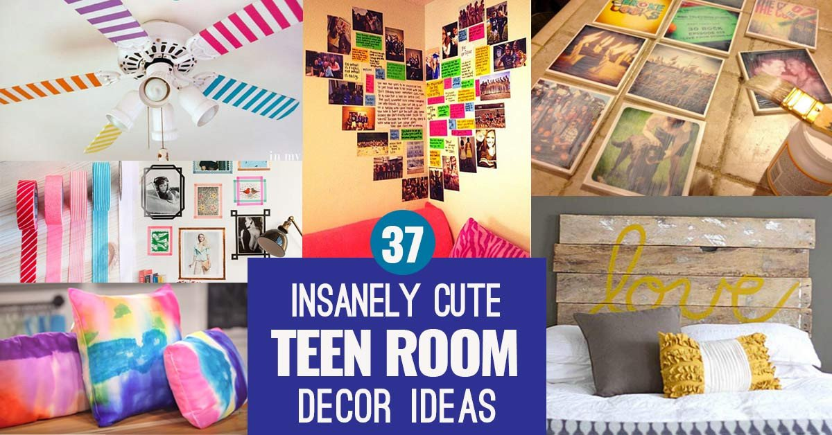 Diy Room Decor for Teenagers Best Of 37 Insanely Cute Teen Bedroom Ideas for Diy Decor