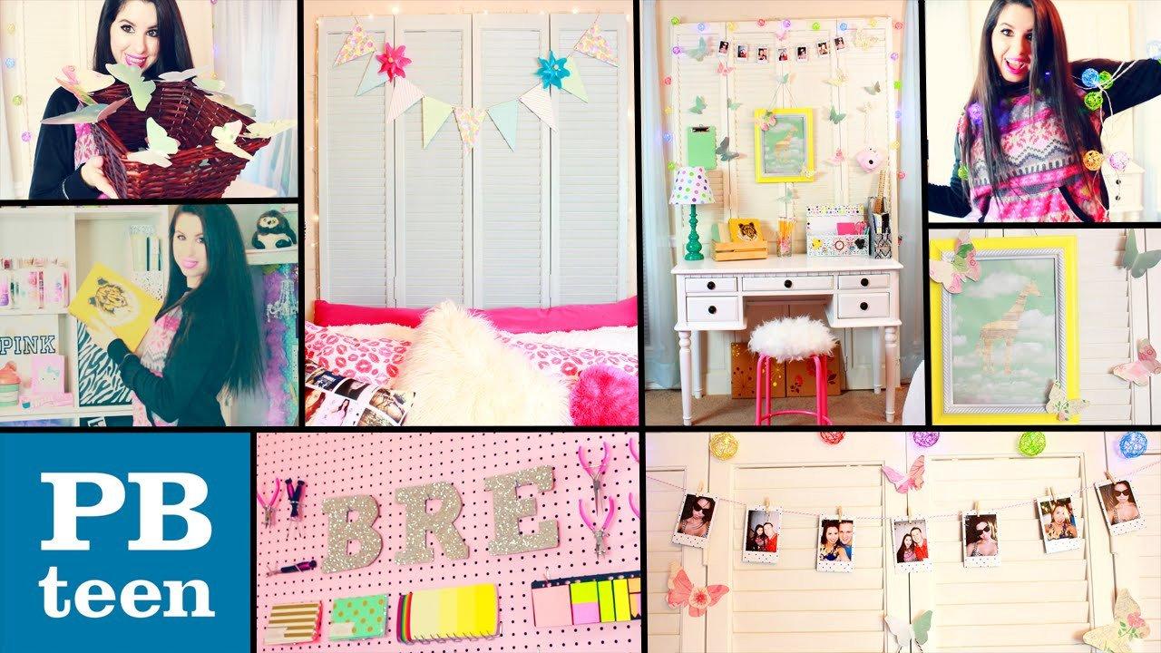 Diy Room Decor for Teenagers Inspirational Diy Pb Teen Inspired Room Decor Easy & Cheap Dollar Store Diys