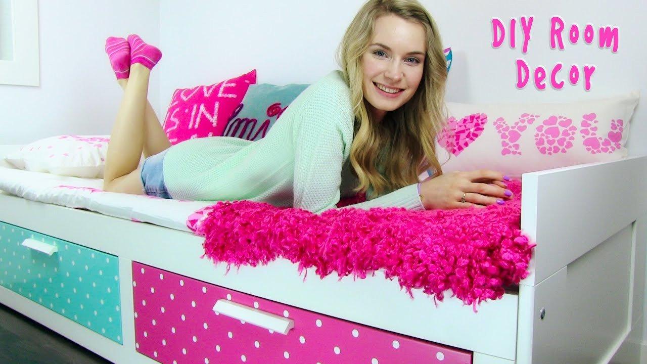 DIY Room Decor 10 DIY Room Decorating Ideas for Teenagers DIY Wall Decor Pillows etc