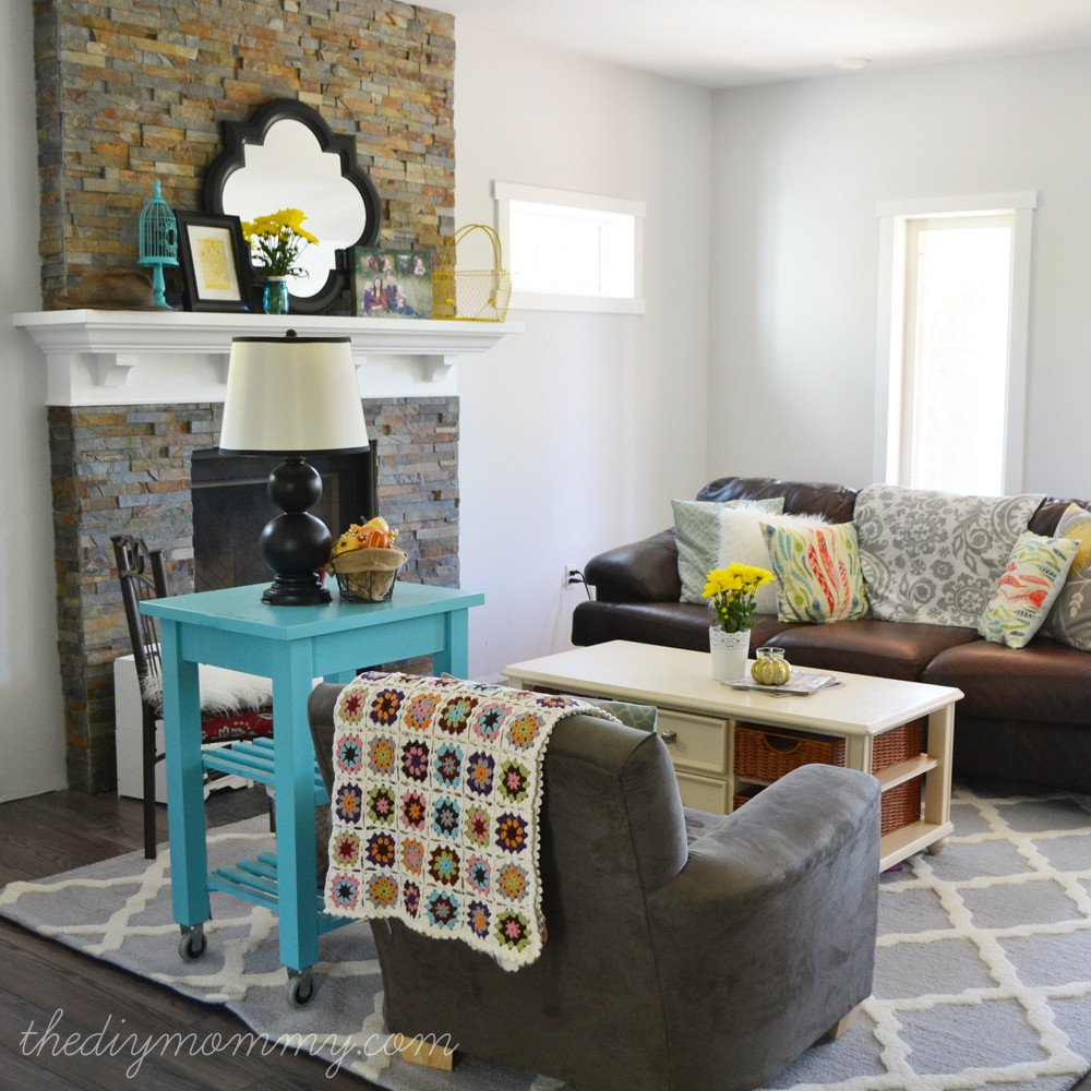 "Diy Rustic Living Room Decor Elegant Our ""rustic Glam Farmhouse"" Living Room – Our Diy House"