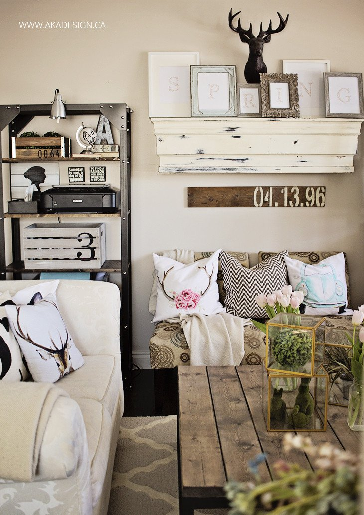 Diy Rustic Living Room Decor Inspirational Home Decor Diy Projects Farmhouse Design the 36th Avenue