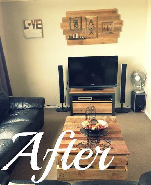 Diy Rustic Living Room Decor New Home Made Diy Modern Rustic Living Room Make Over