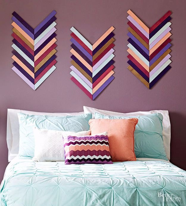 Diy Wall Decor for Bedroom Awesome 76 Brilliant Diy Wall Art Ideas for Your Blank Walls Art Art Show Display