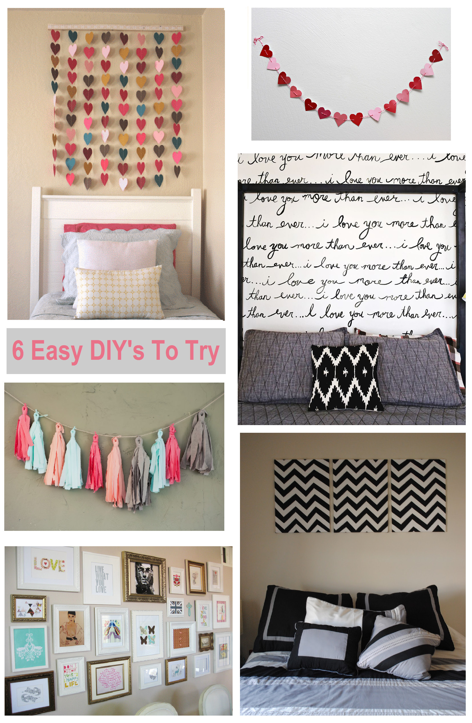 Diy Wall Decor for Bedroom New 6 Diy Bedroom Wall Art Ideas
