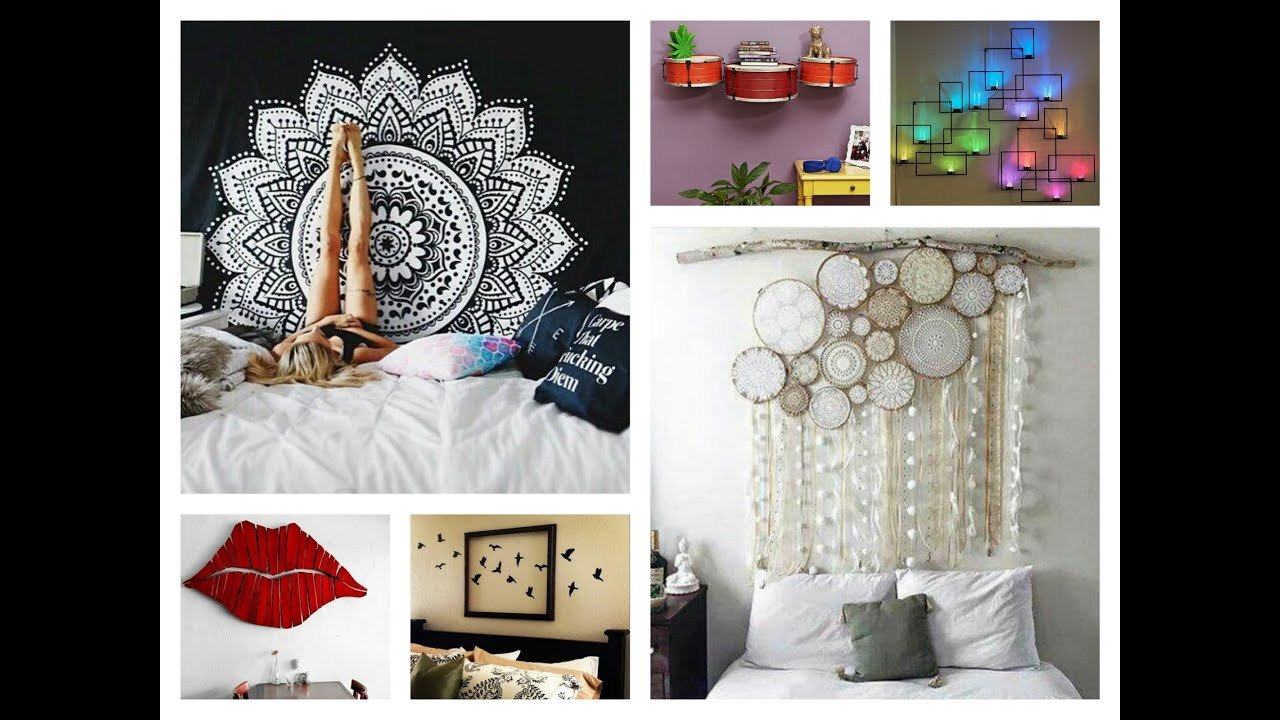 Diy Wall Decor for Bedroom New Creative Wall Decor Ideas Diy Room Decorations