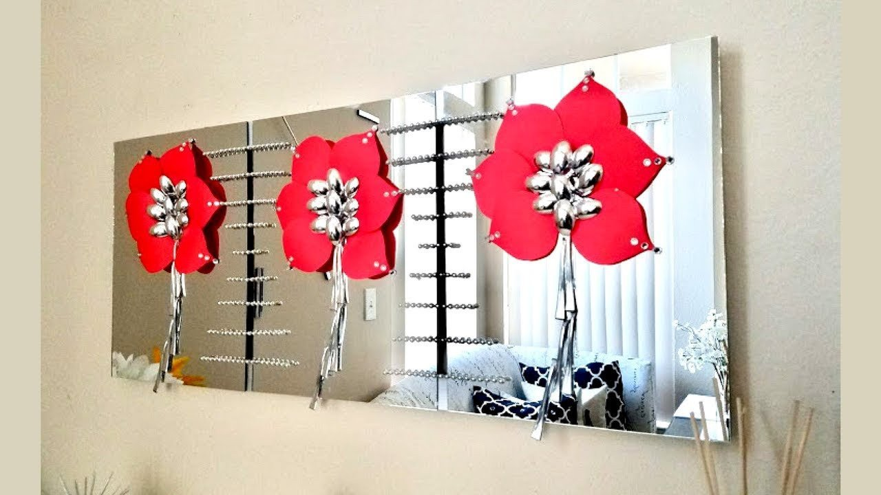 Diy Wall Decor with Pictures Best Of Diy Wall Mirror Craft Decor Inexpensive Wall Decorating Idea