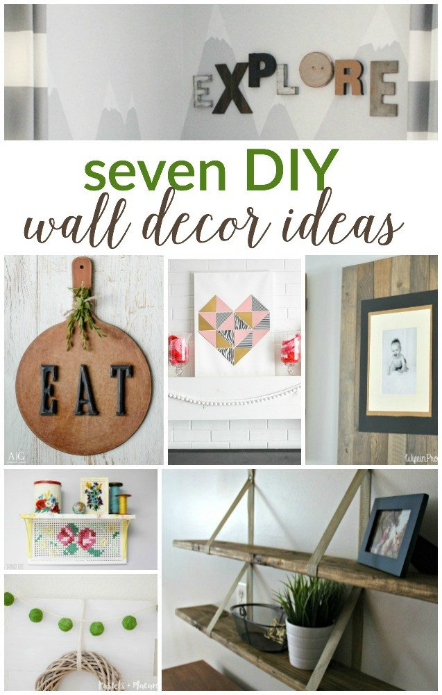 Diy Wall Decor with Pictures Inspirational 7 Diy Wall Decor Ideas Work It Wednesday Place Of My Taste