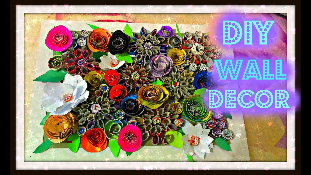 Diy Wall Decor with Pictures Inspirational Diy Magazine Wall Decor