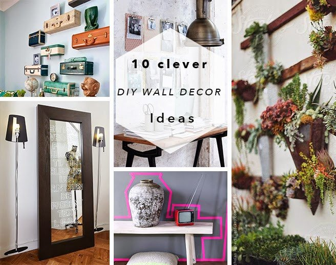 Diy Wall Decor with Pictures Inspirational Diy Roundup