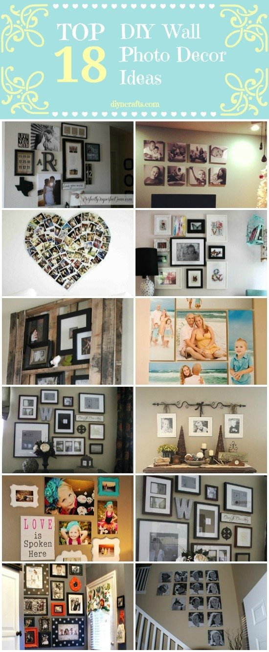 Diy Wall Decor with Pictures Inspirational top 18 Diy Wall Decor Ideas Diy & Crafts