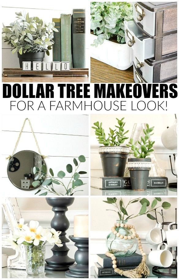 Diy Websites for Home Decor Elegant How to Get the Farmhouse Look with Dollar Tree Items Hometalk Diy