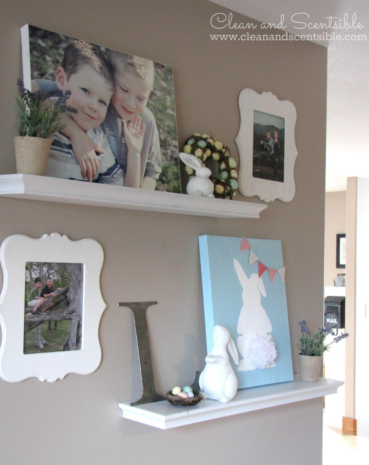 Diy Websites for Home Decor Fresh Gallery Wall How to Cover A thermostat My Favorite Sites