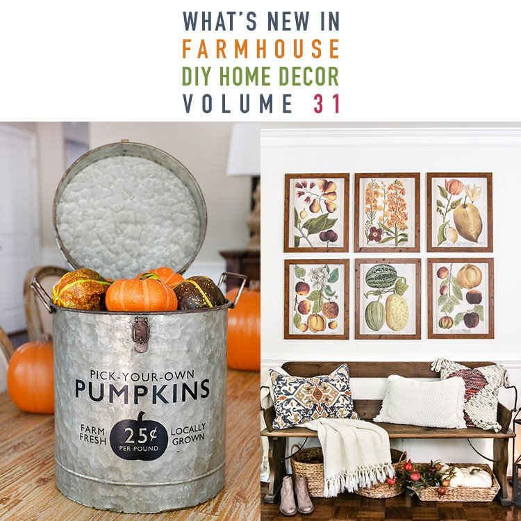 Diy Websites for Home Decor New What's New In Farmhouse Diy Home Decor Projects Vol 31 the Cottage Market