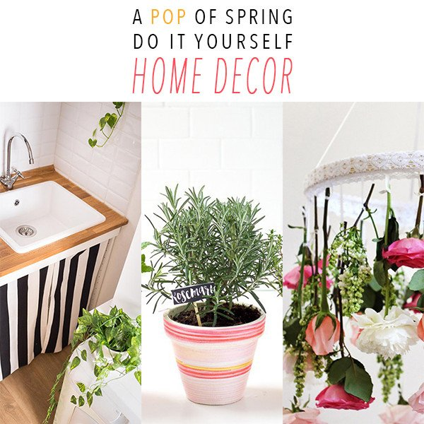Do It Yourself Home Decor Inspirational A Pop Of Spring Do It Yourself Home Decor the Cottage Market