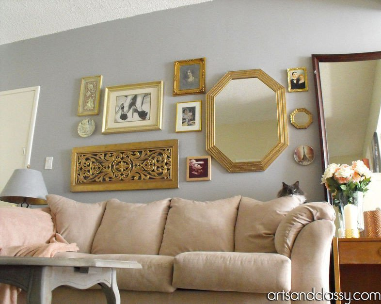 Do It Yourself Home Decor Inspirational Do It Yourself Gold Octagon Mirror Revamp