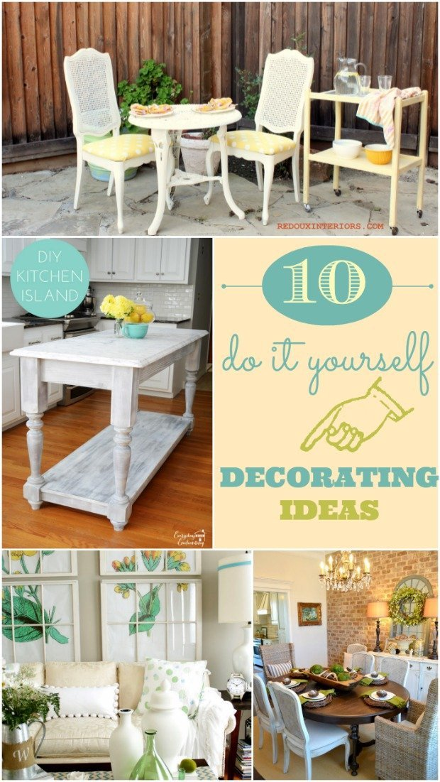 Do It Yourself Home Decor Luxury 10 Do It Yourself Decorating Ideas Home Stories A to Z