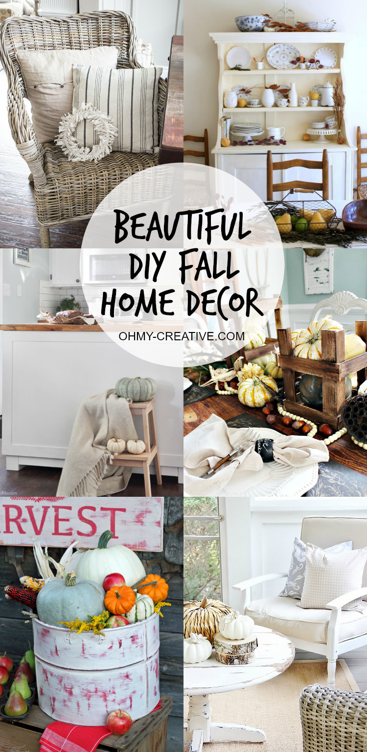 Do It Yourself Home Decor New Beautiful Do It Yourself Fall Home Decor Oh My Creative