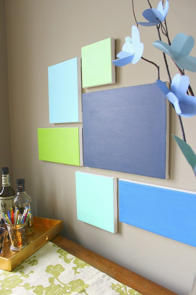 Do It Yourself Wall Decor Beautiful Diy Canvas Art