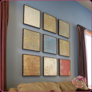 Do It Yourself Wall Decor Fresh Do It Yourself Scrapbook Paper Wall Art Money Saving Mom