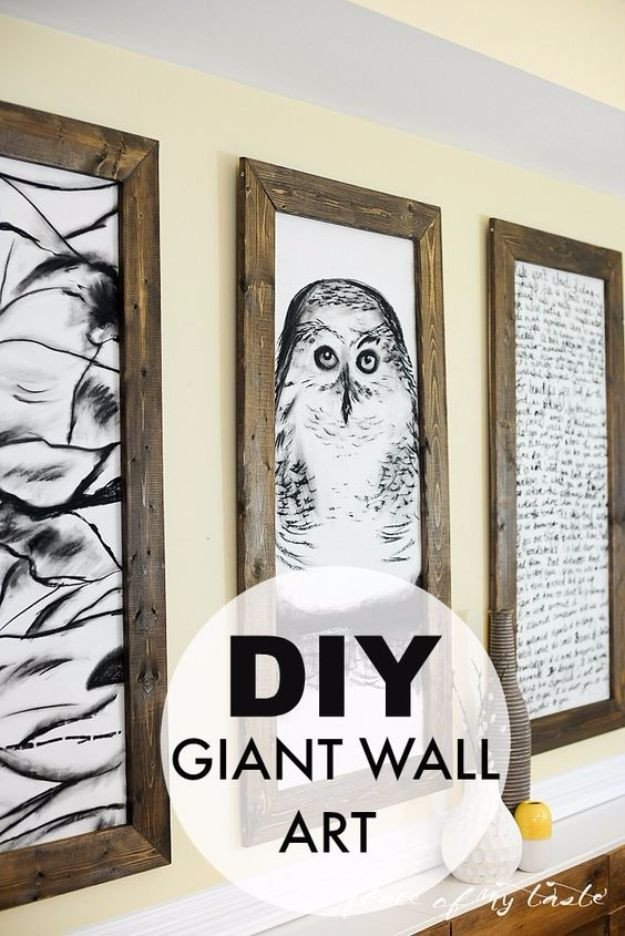 Do It Yourself Wall Decor Inspirational 76 Brilliant Diy Wall Art Ideas for Your Blank Walls