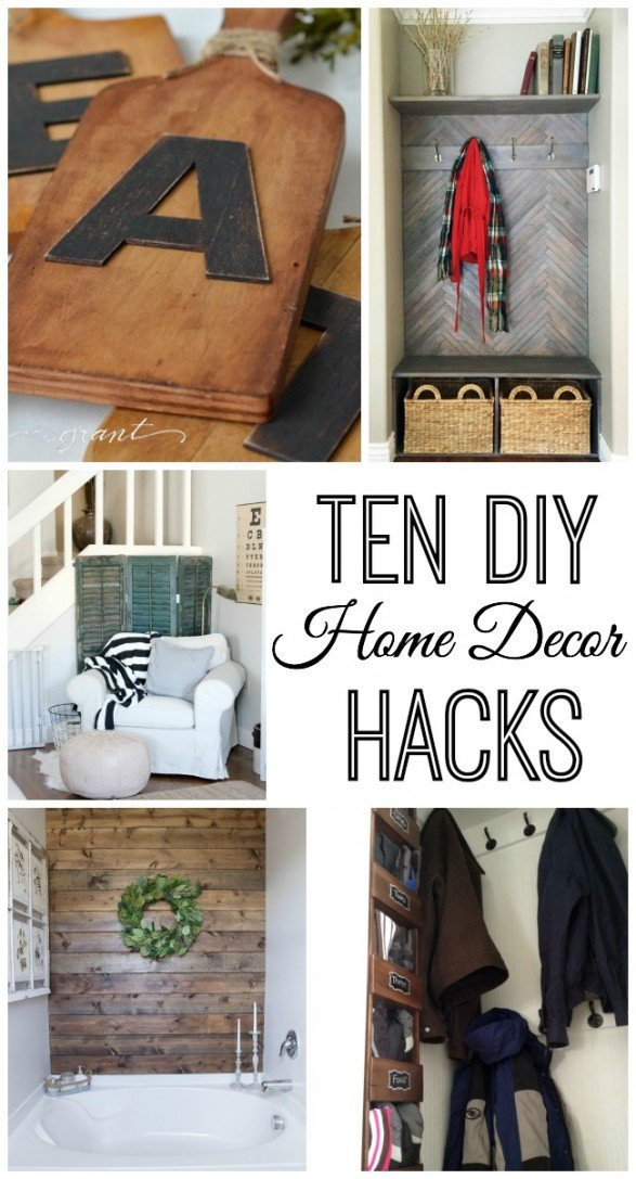 Do It Yourself Wall Decor Lovely 10 Do It Yourself Home Decor Hacks Home Stories A to Z