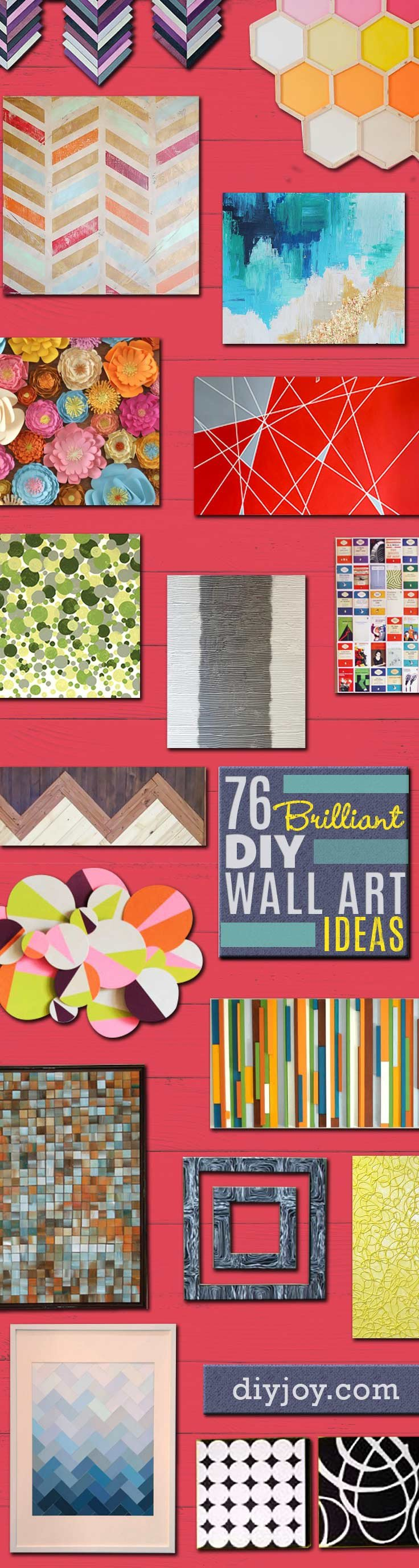 Do It Yourself Wall Decor Unique 76 Brilliant Diy Wall Art Ideas for Your Blank Walls