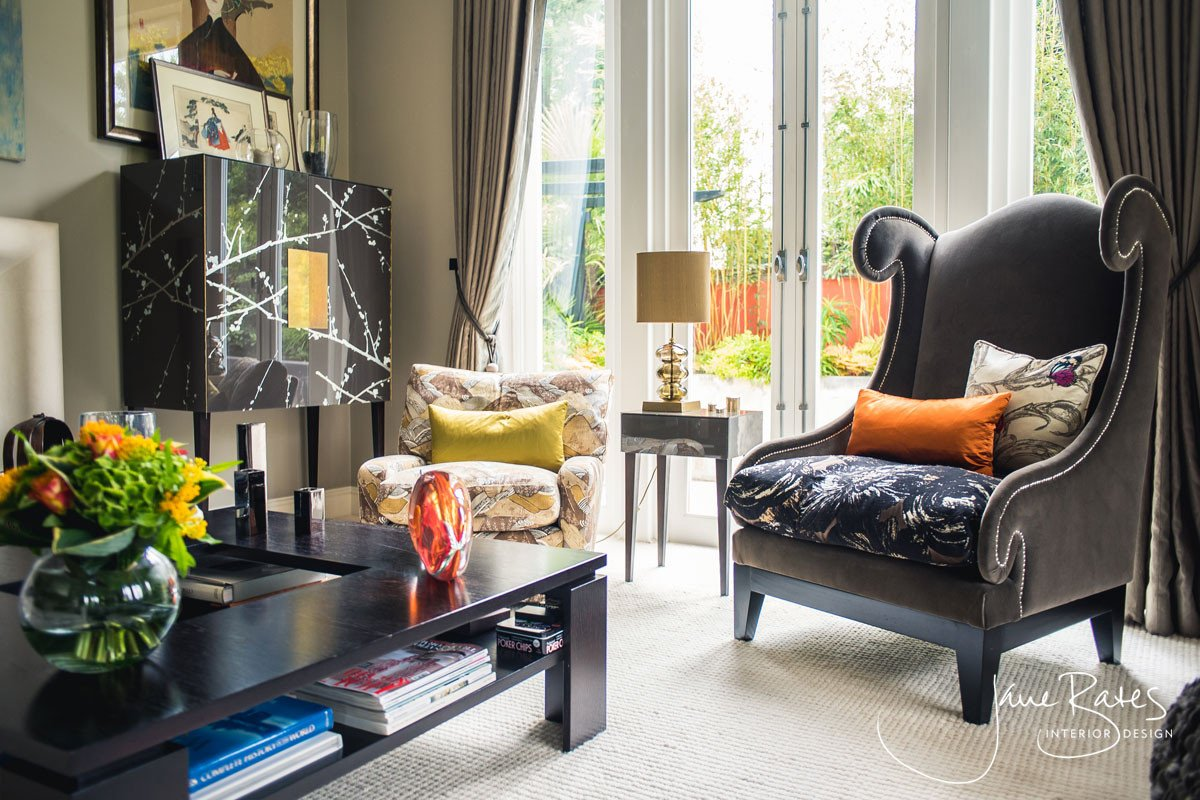 Eclectic Comfortable Living Room Awesome Bespoke Living Room Design
