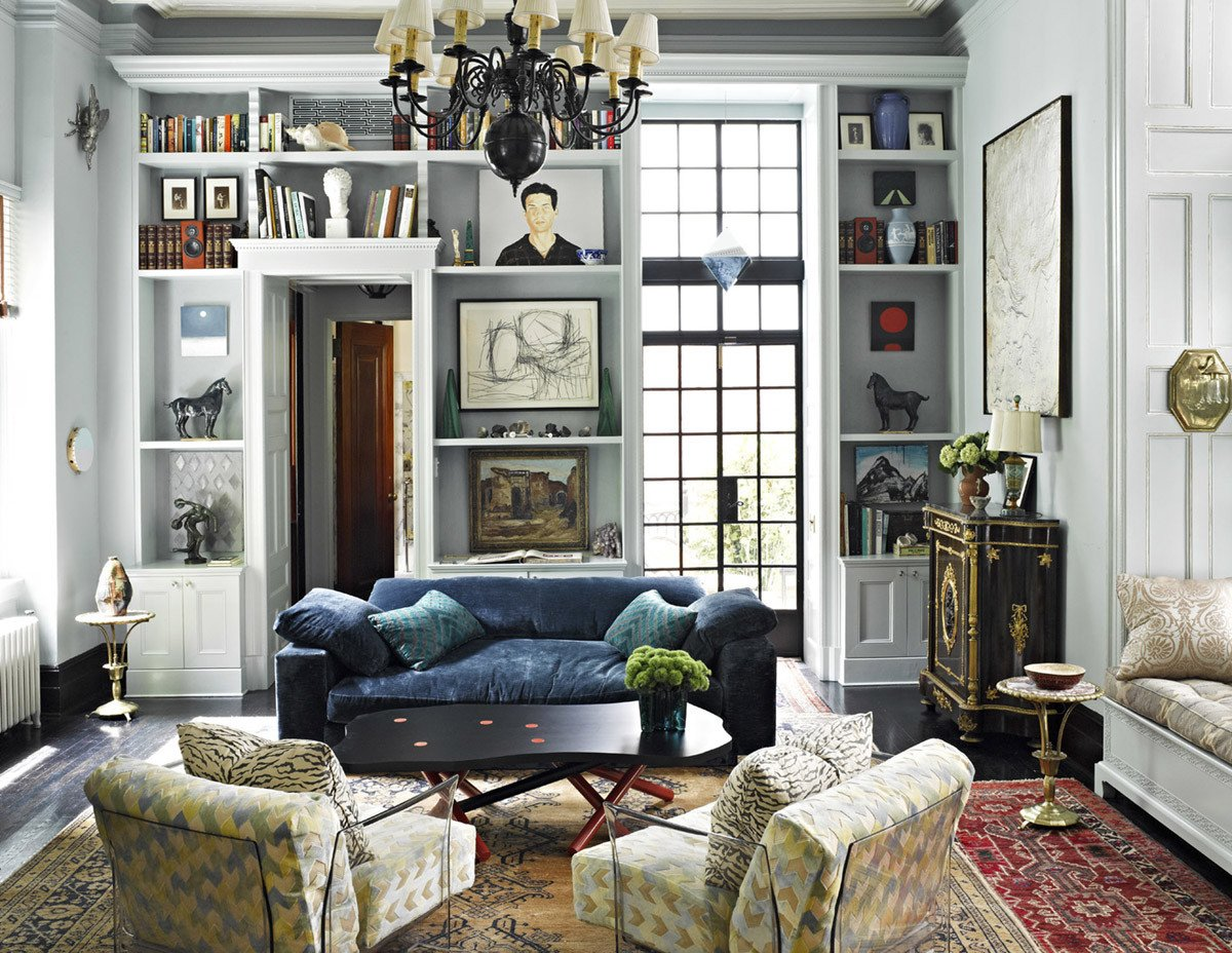 Eclectic Comfortable Living Room Best Of Room Of the Week An Eclectic formal Living Room Coco Kelley Coco Kelley