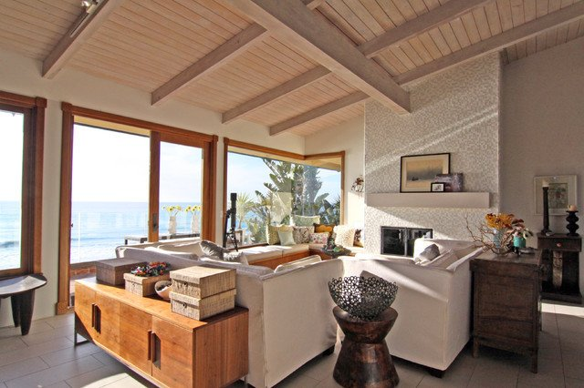 Eclectic Comfortable Living Room Elegant fortable Family Room with Ocean View Eclectic Family Room San Diego by Flea Market Sunday