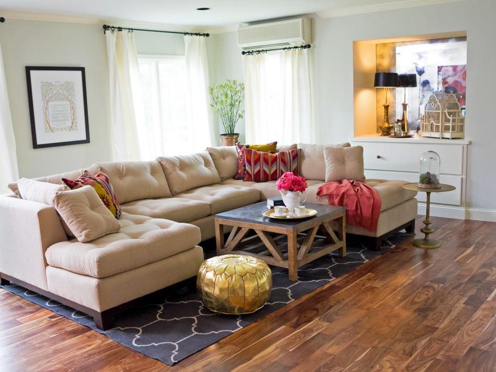 Eclectic Comfortable Living Room Fresh Genevieve Gorder S Best Designs Hgtv Design Star