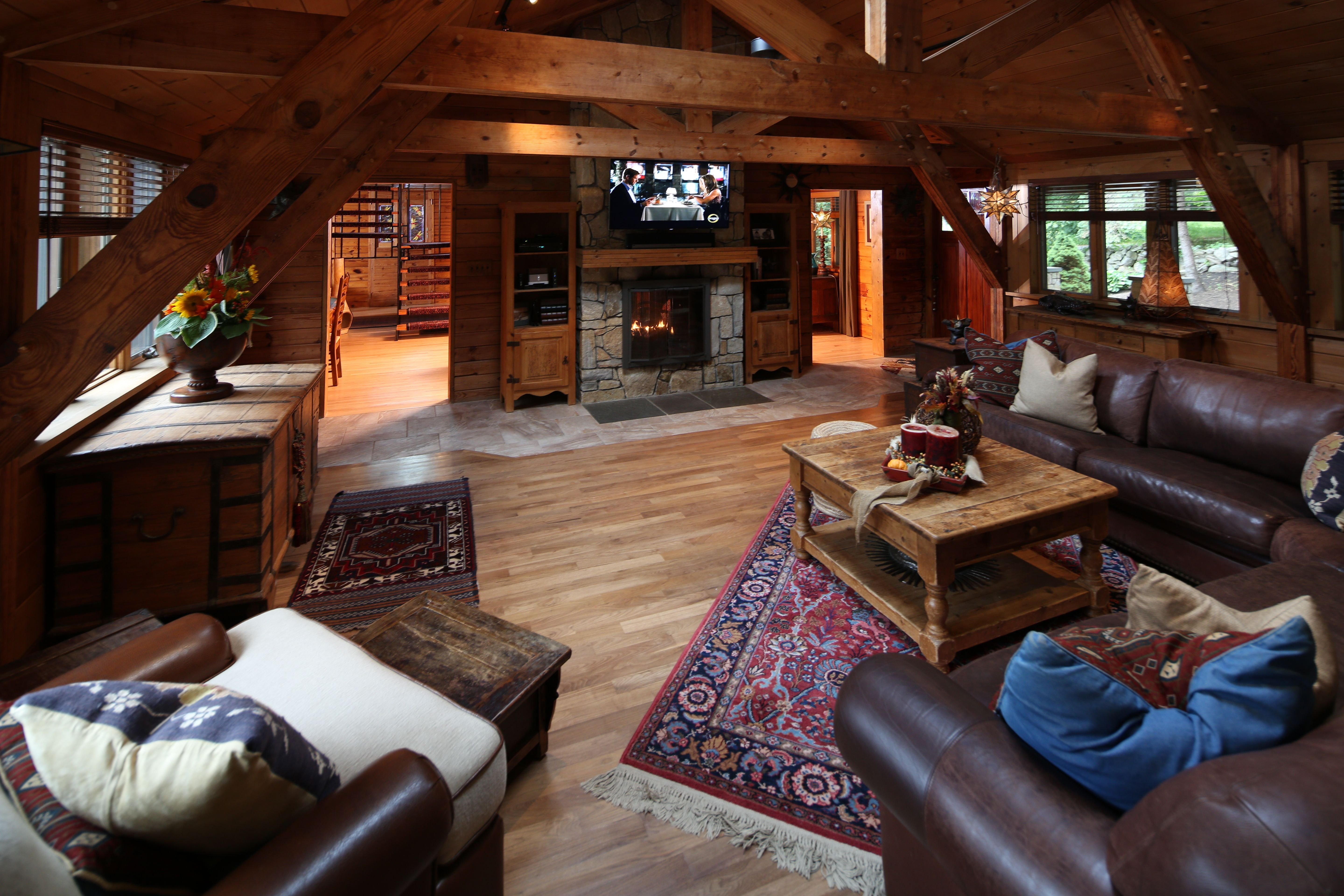 Eclectic Comfortable Living Room Fresh Post and Beam Cozy Living Room Rustic Eclectic Room Living Rooms