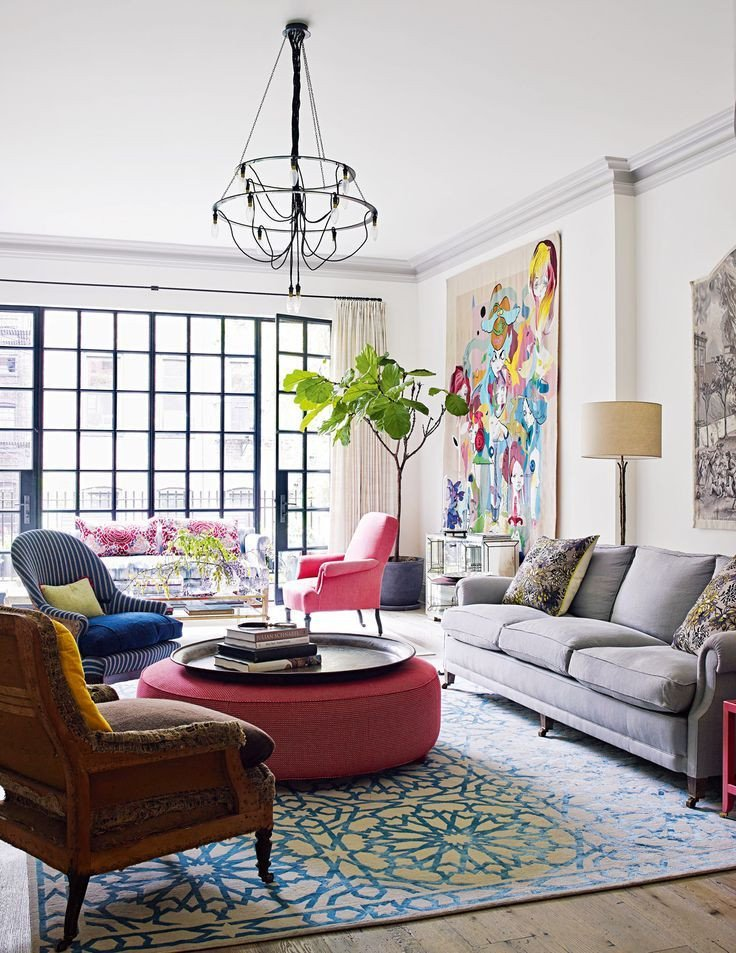 Eclectic Comfortable Living Room Lovely Best 25 Eclectic Decor Ideas On Pinterest