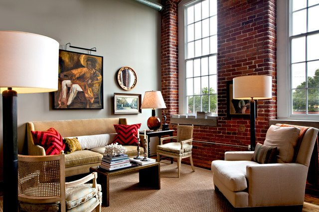Eclectic Comfortable Living Room Luxury Eclectic Living Room