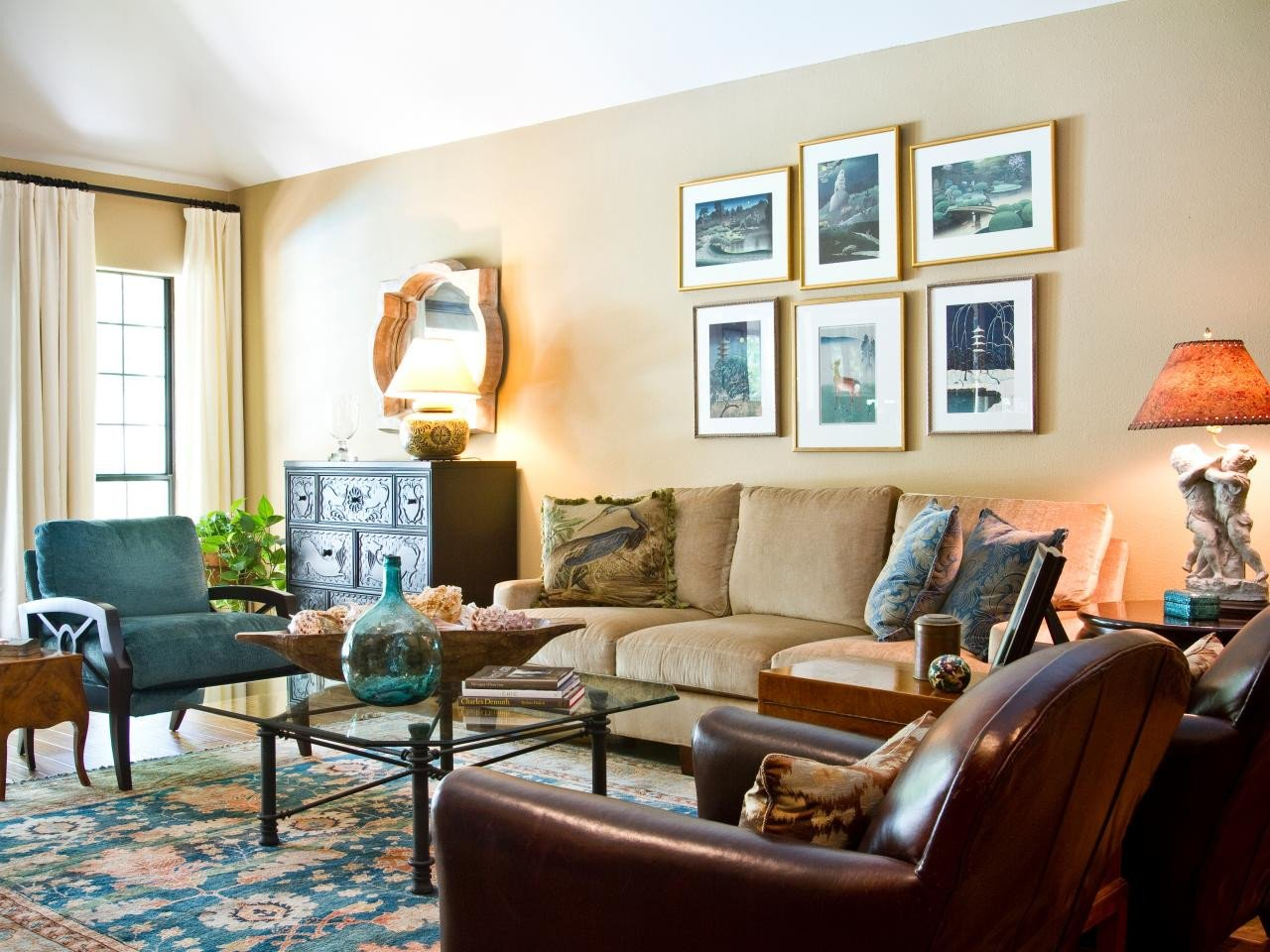 Eclectic Comfortable Living Room Luxury S