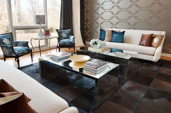 Eclectic Comfortable Living Room New Interior Decorating Idea 2012 09 16