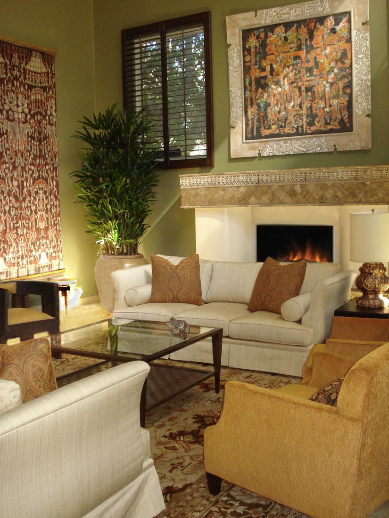 Eclectic Comfortable Living Room New S