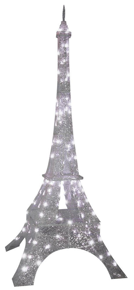 Eiffel tower Decor with Lights Best Of Eiffel tower 7 Ft Sparkle Crystal Splendor Prop Gemmy Christmas Yard Decoration