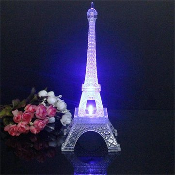 Eiffel tower Decor with Lights Best Of Mini Color Changing Eiffel tower Night Light Led Table Lamp Desk Bedroom Decor at Banggood