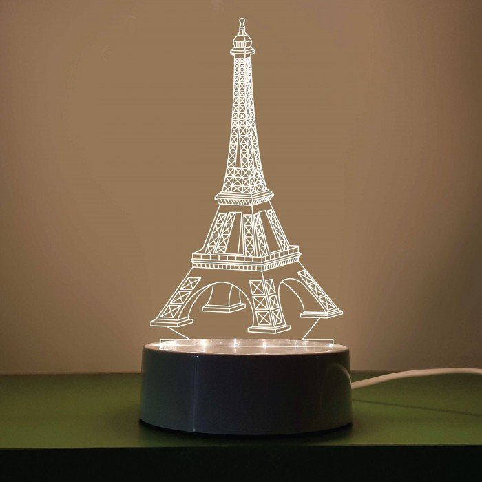 Eiffel tower Decor with Lights Elegant 2 3 Dimensions Led Lights and Lamps & More My Ehome Decor Malaysia