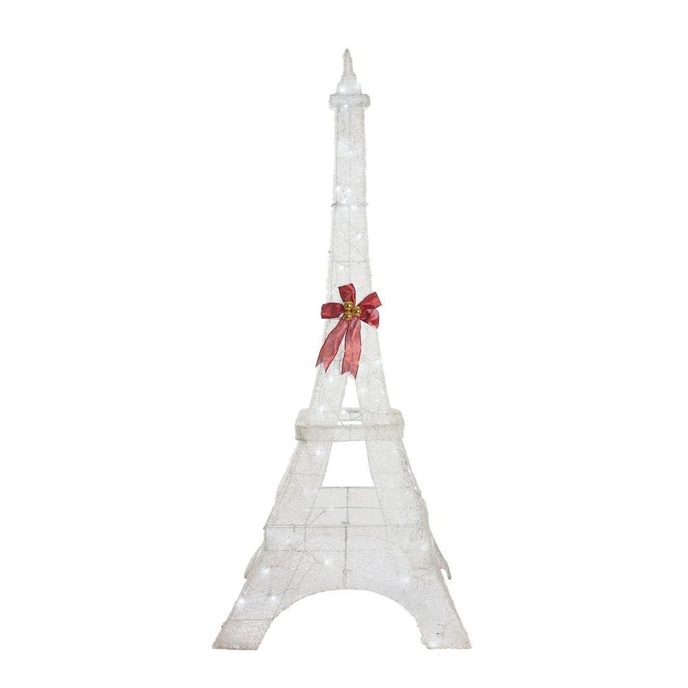 Eiffel tower Decor with Lights Elegant Home Accents Holiday 86 In Led Lighted Twinkling Pvc Eiffel tower Ty261 1611 0 the Home Depot