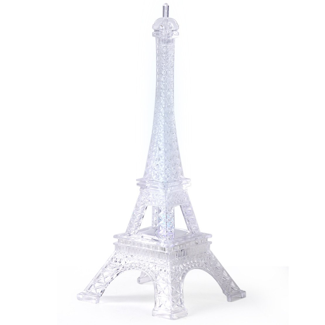 Eiffel tower Decor with Lights Luxury Colorful Eiffel tower Night Light Led Lamp Desk Bedroom Home Wedding Party Decor